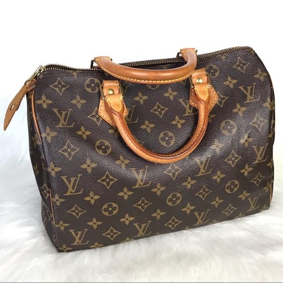 367e2c474d18 Louis Vuitton Handbags - •SALE• Louis Vuitton Speedy 30 Monogram Satchel